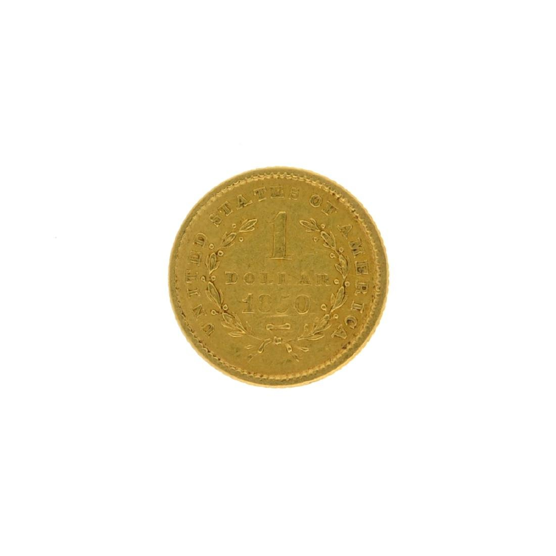 1850 $1 U.S. Liberty Head Gold Coin