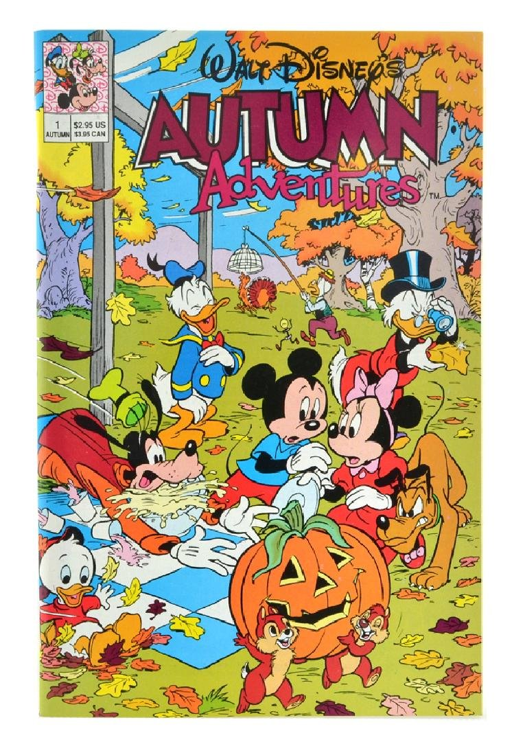 Walt Disney's Autumn Adventures (1990) Issue 1