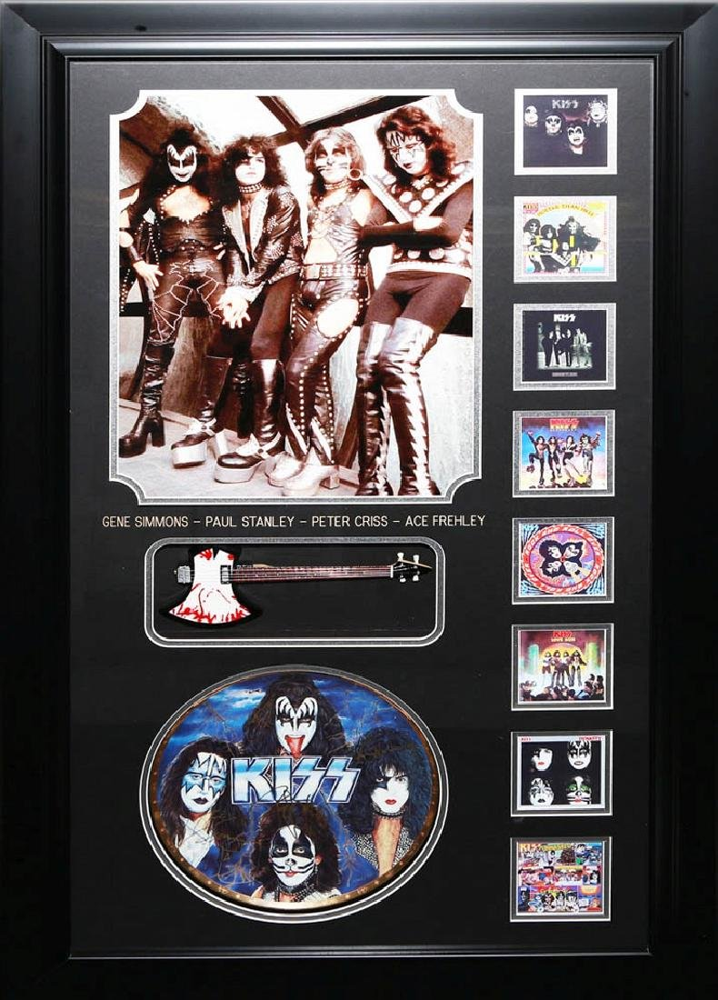 Kiss Collage with Guitar