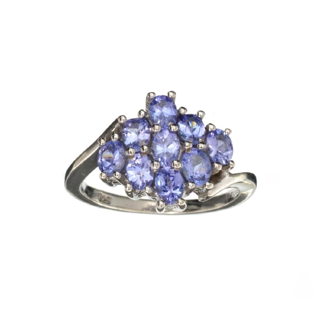 APP: 1.4k Fine Jewelry 1.50CT Oval Cut Tanzanite And