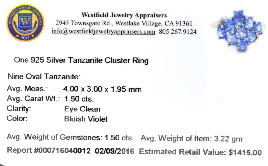 APP: 1.4k Fine Jewelry 1.50CT Oval Cut Tanzanite And - 2