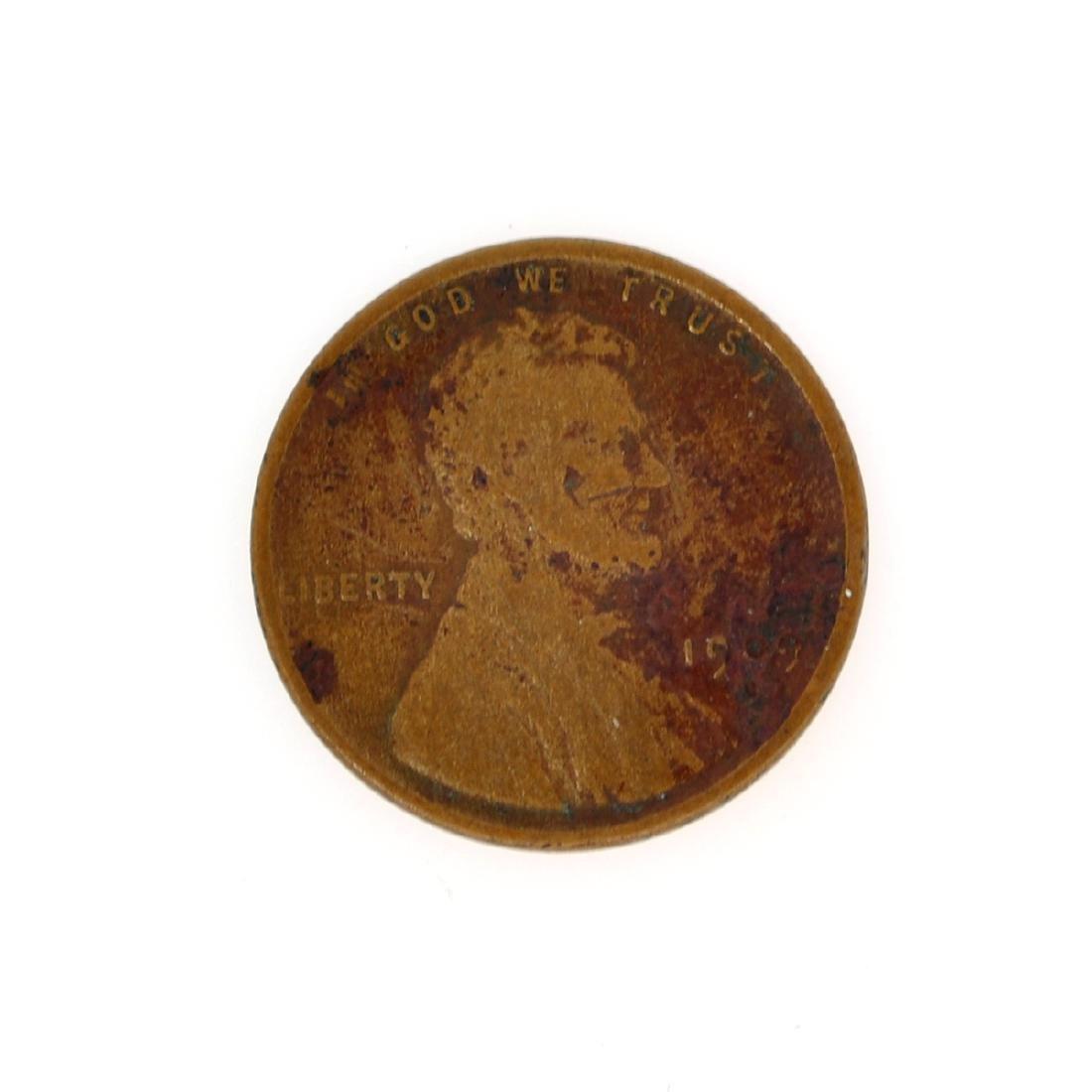 Rare 1909-S Lincoln Cent Coin