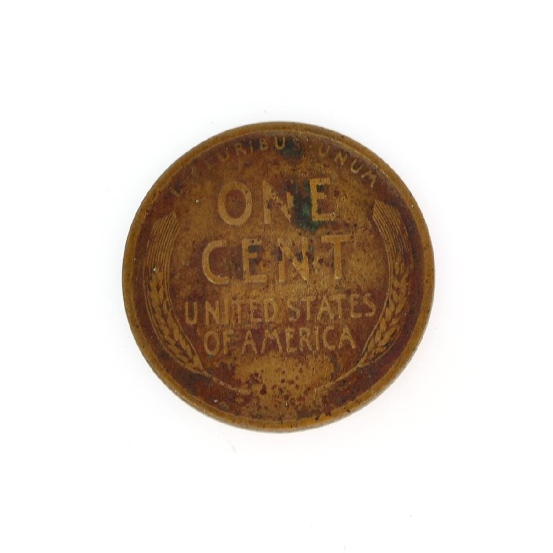 Rare 1909-S Lincoln Cent Coin - 2