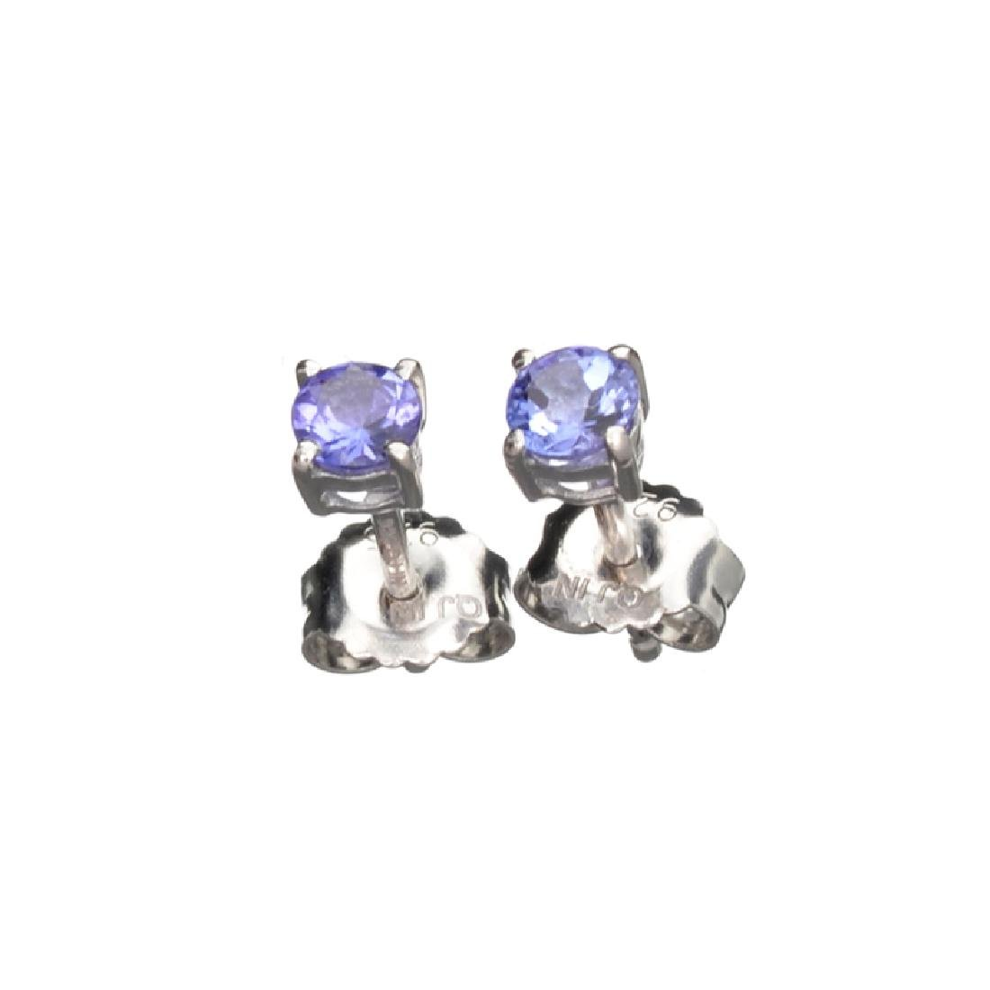 APP: 0.7k Fine Jewelry 0.70CT Round Cut Tanzanite And