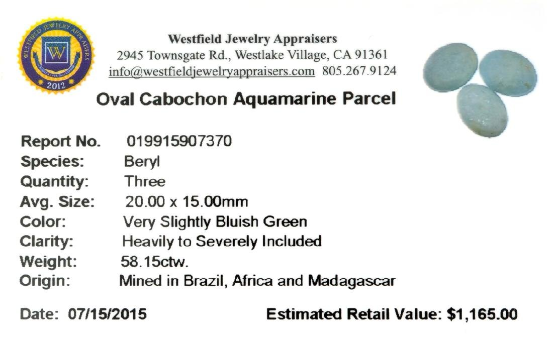 APP: 1.2k 58.15CT Oval Cut Cabochon Greenish Blue - 2