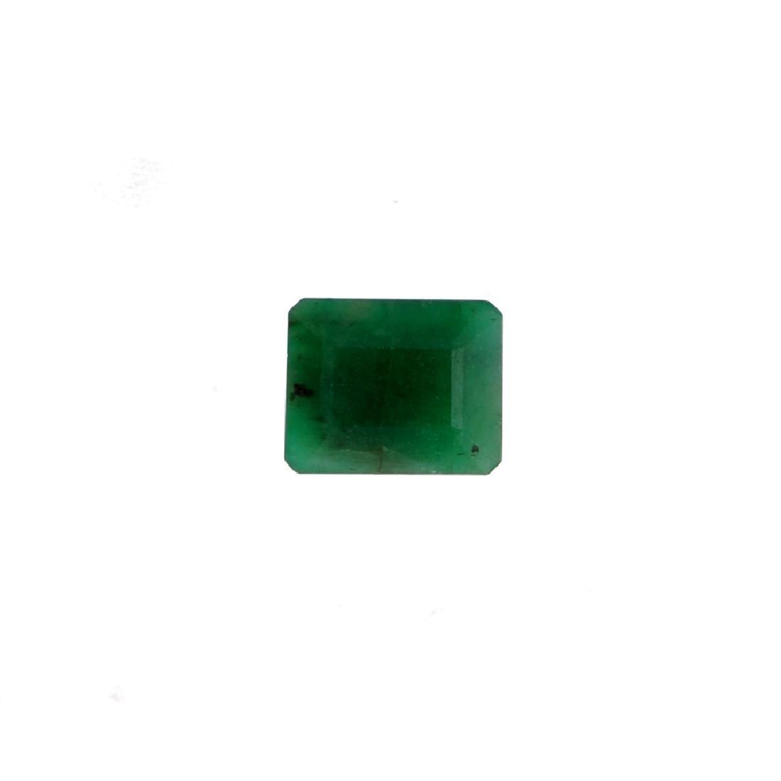 APP: 1.4k 5.61CT Rectangular Step Cut Green Emerald