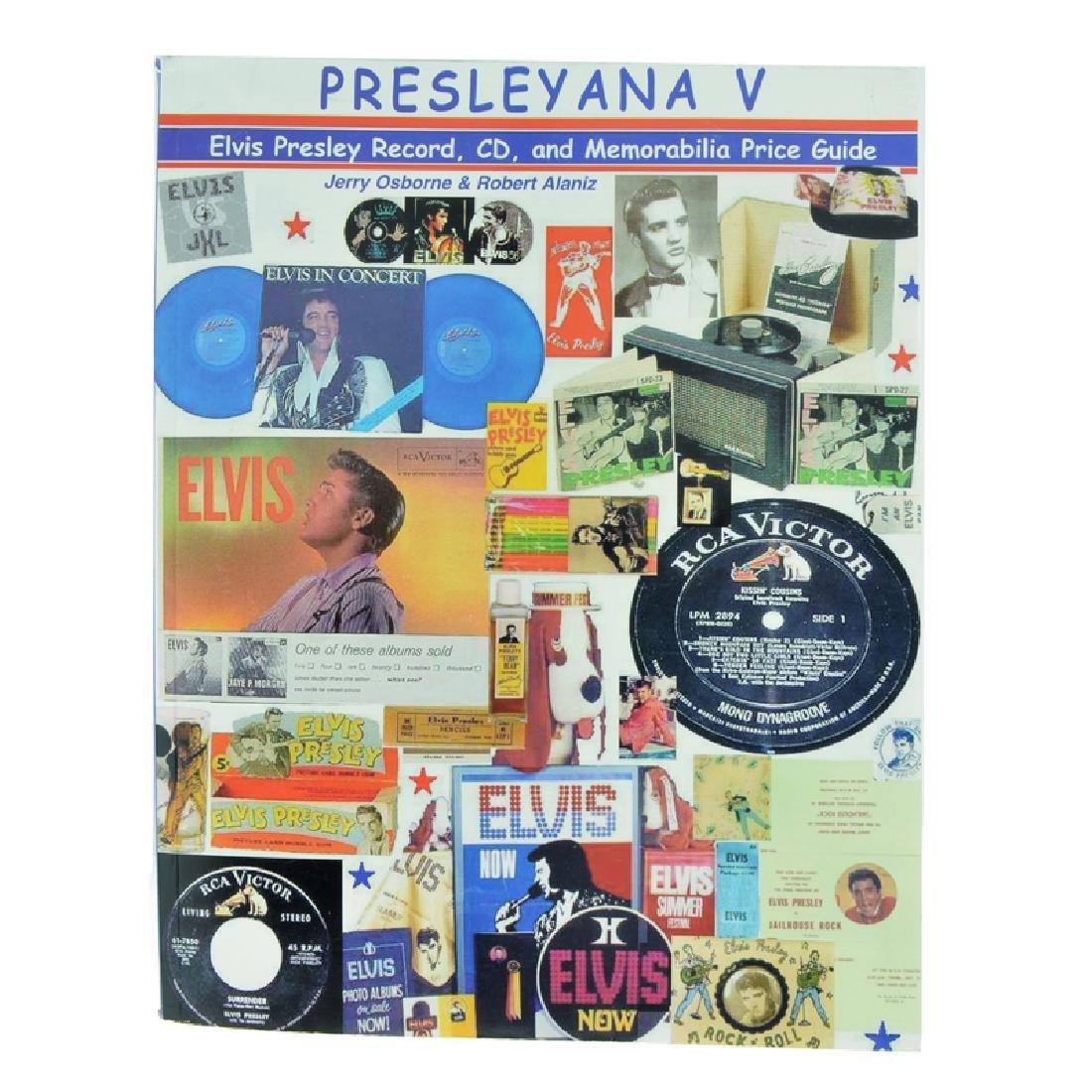 Presleyana V: The Elvis Presley Album, CD, And