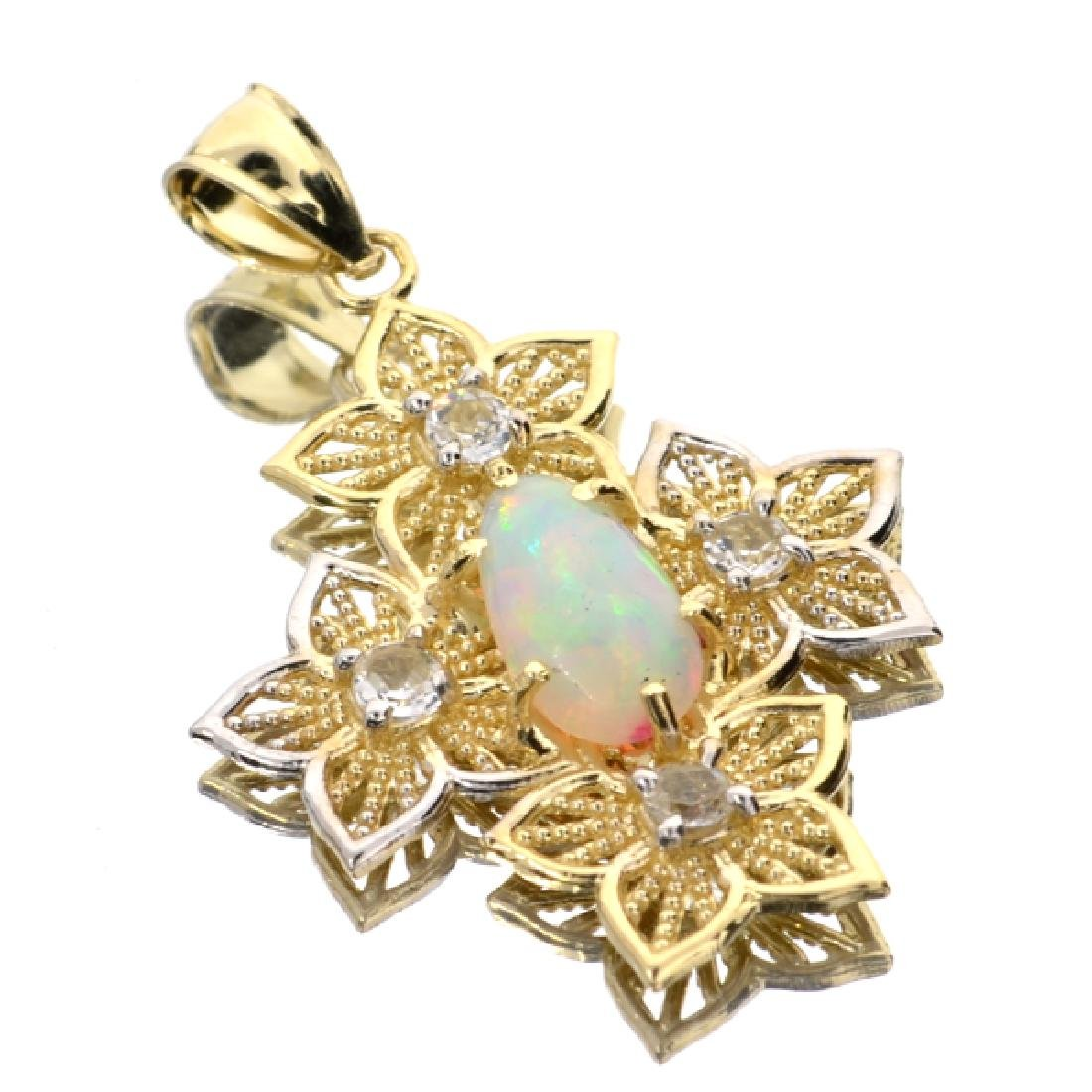 APP: 3.3k 14 kt. Yellow and White Gold, 1.31CT Crystal