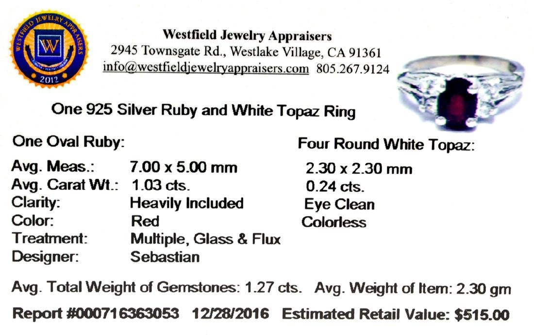 APP: 0.5k Fine Jewelry Designer Sebastian, 1.27CT Ruby - 2