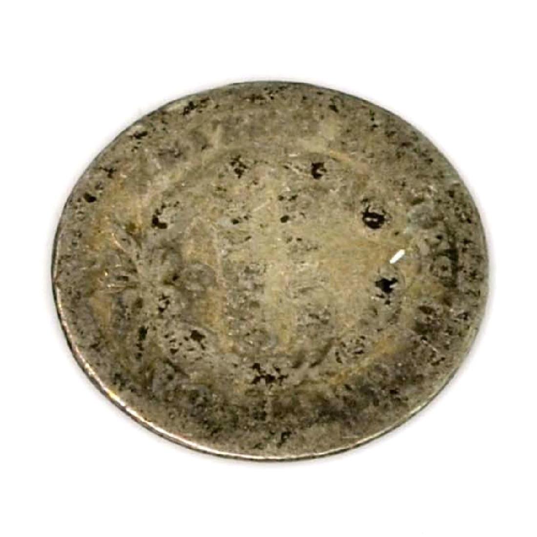 1858-O Liberty Seated Half Dime Coin - 2