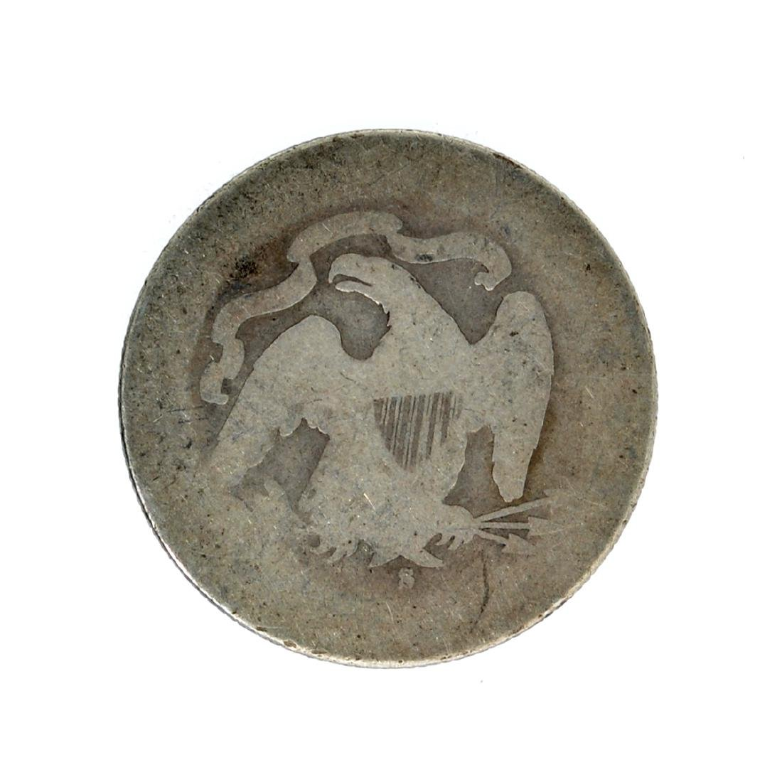 1877-S Liberty Seated Quarter Dollar Coin - 2