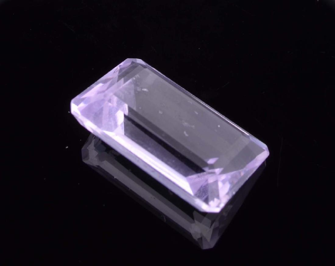 APP: 0.5k 27.00CT Emerald Cut Light Purple Amethyst