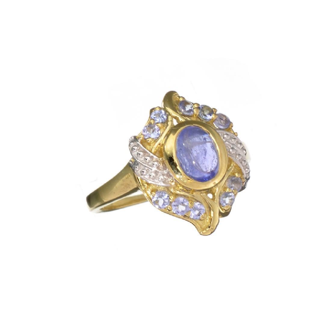 APP: 0.8k Fine Jewelry 0.80CTCabochon Cut Tanzanite
