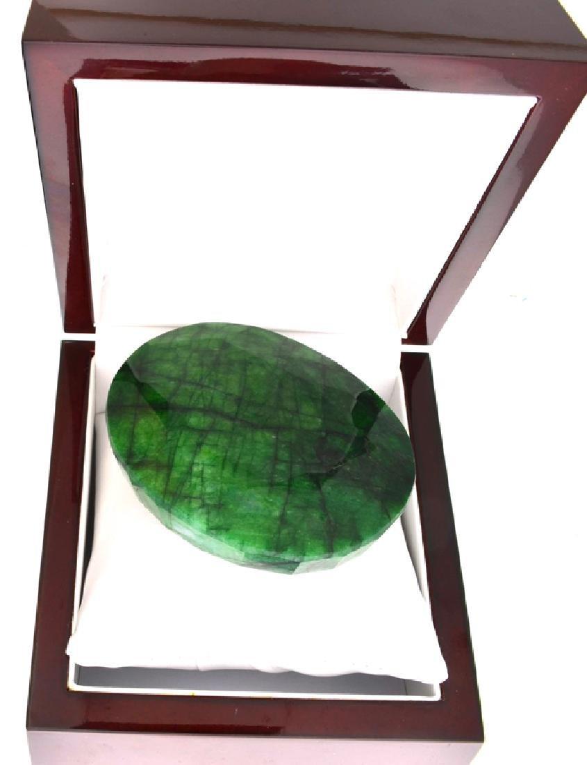 APP: 9.8k 1223.80CT Oval Cut Green Beryl Emerald