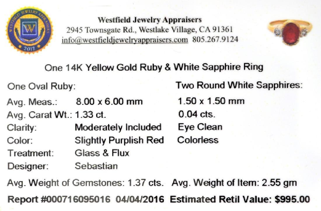 APP: 1k Fine Jewelry Designer Sebastian 14 KT Gold, - 2