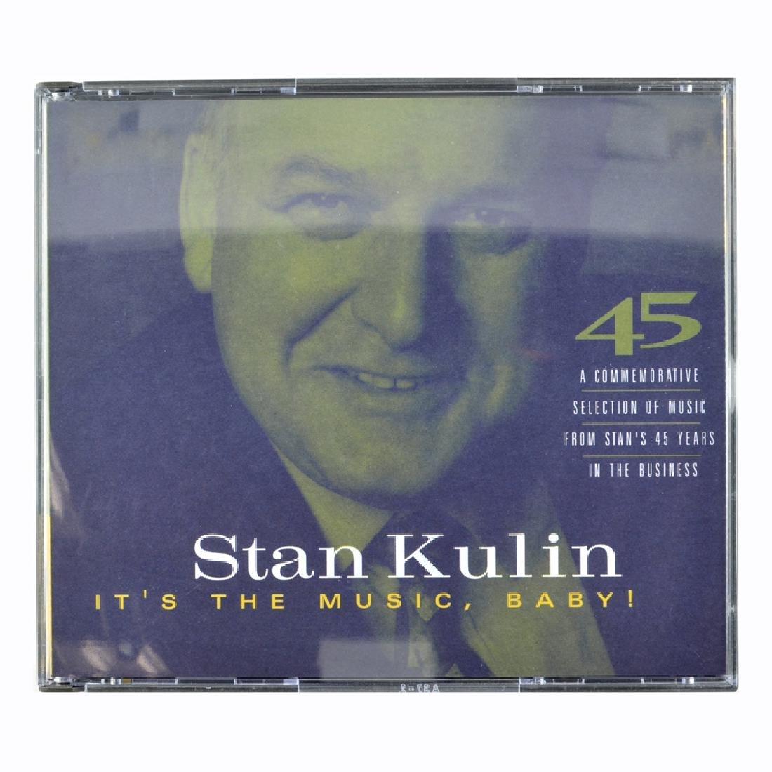 Stan Kulin It's The Music, Baby 3 CDS Set
