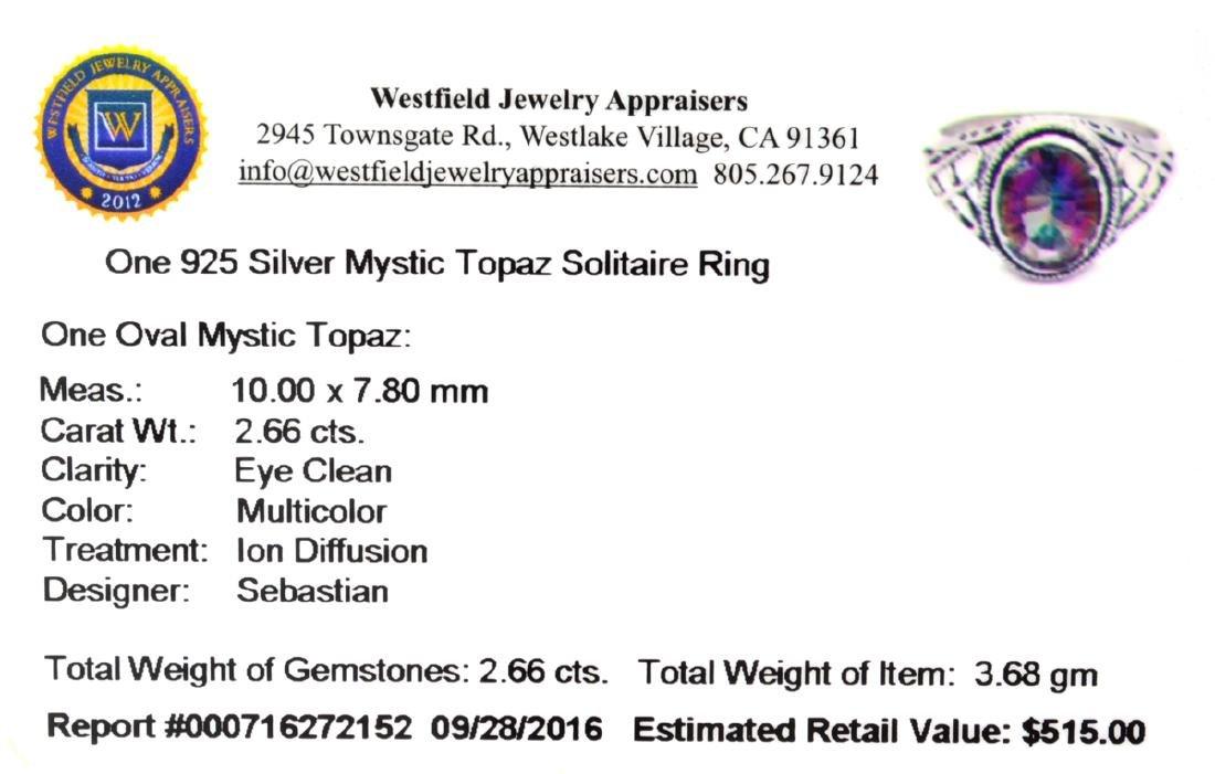 APP: 0.5k Fine Jewelry Designer Sebastian 2.66CT Oval - 2