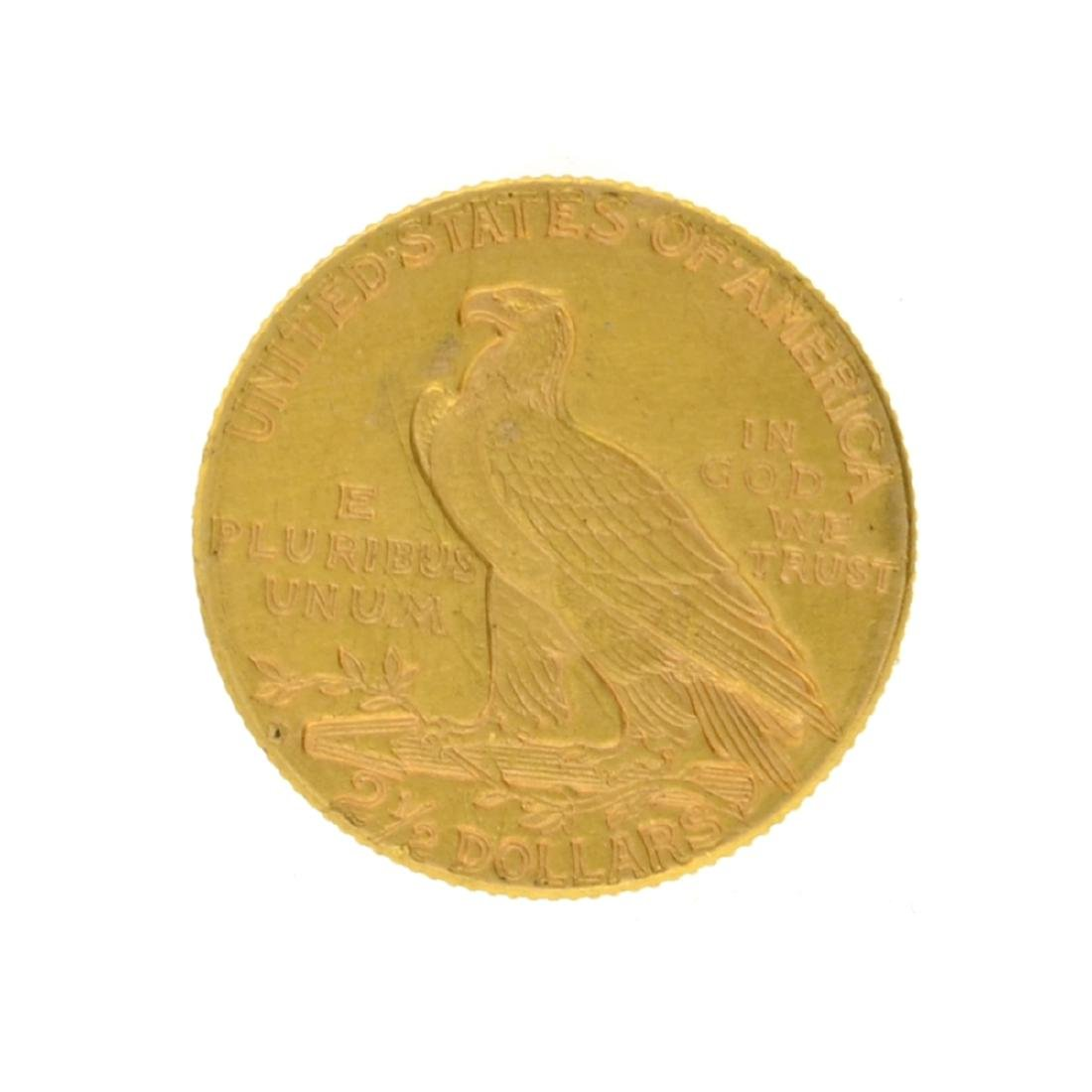 1925-D $2.50 Indian Head Gold Coin - 2