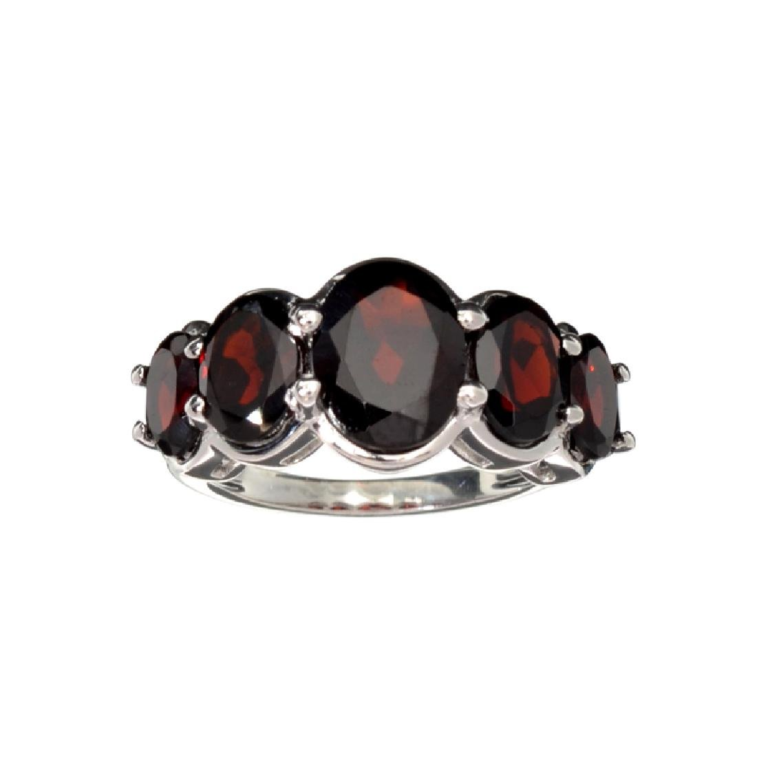 APP: 0.4k Fine Jewelry 5.42CT Oval Cut Almandite Garnet