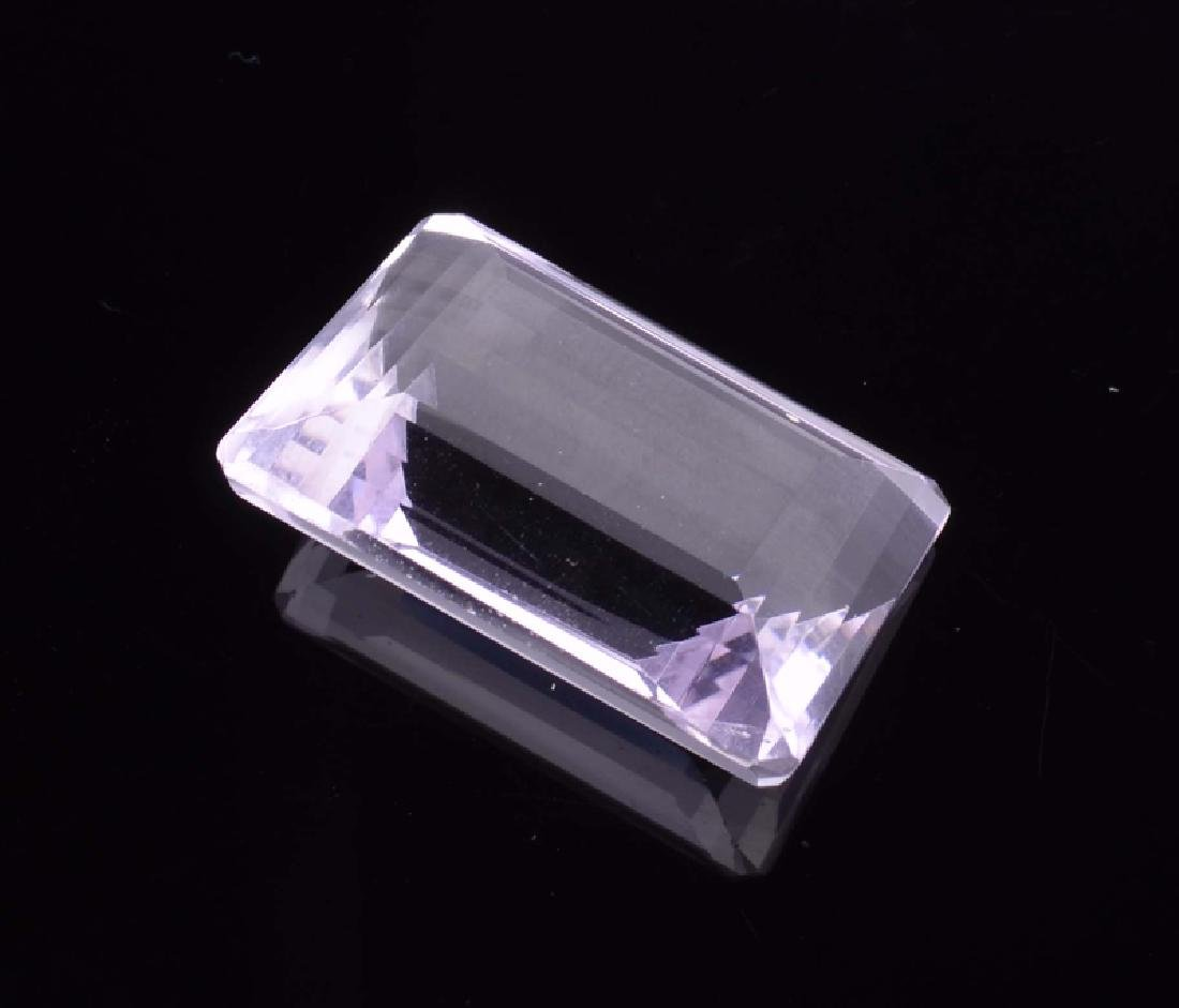 APP: 1.6k 62.00CT Emerald Cut Light Purple Amethyst