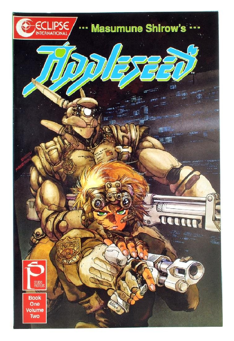 Appleseed Book 1 (1988) Issue 2