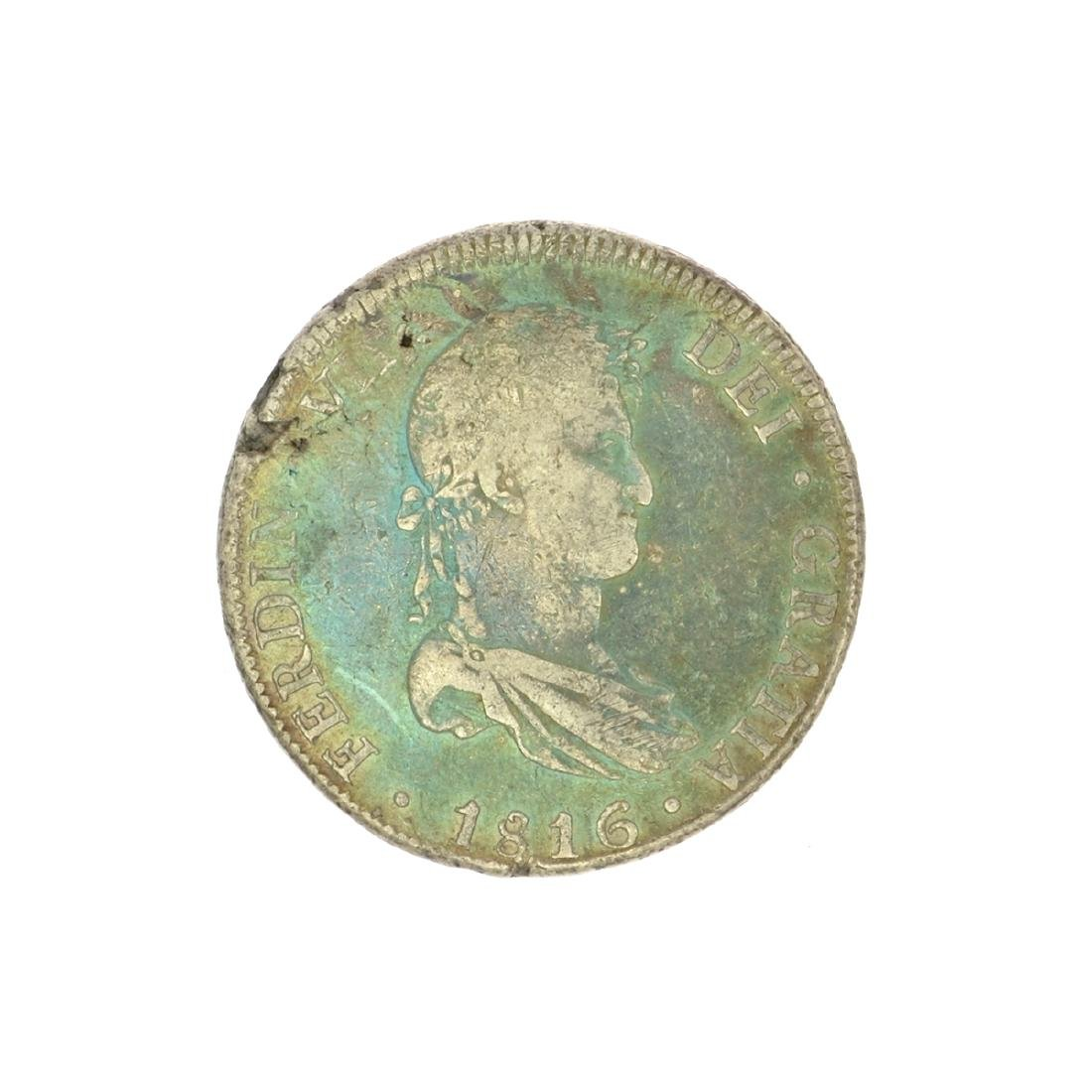 Extremely Rare Early Date 1816 Portrait Reales Very