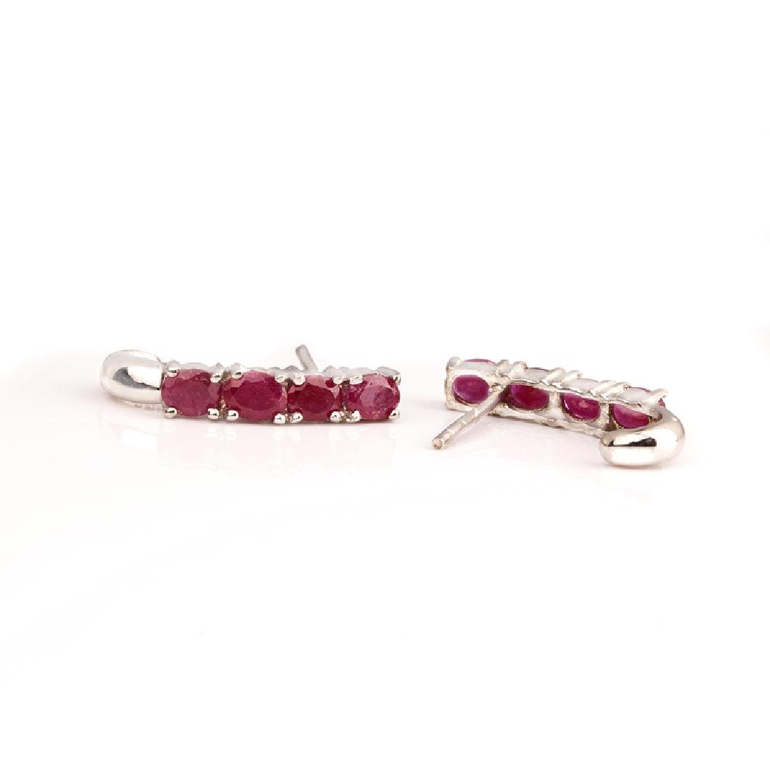 APP: 0.9k Fine Jewelry 1.13CT Oval Cut Ruby And