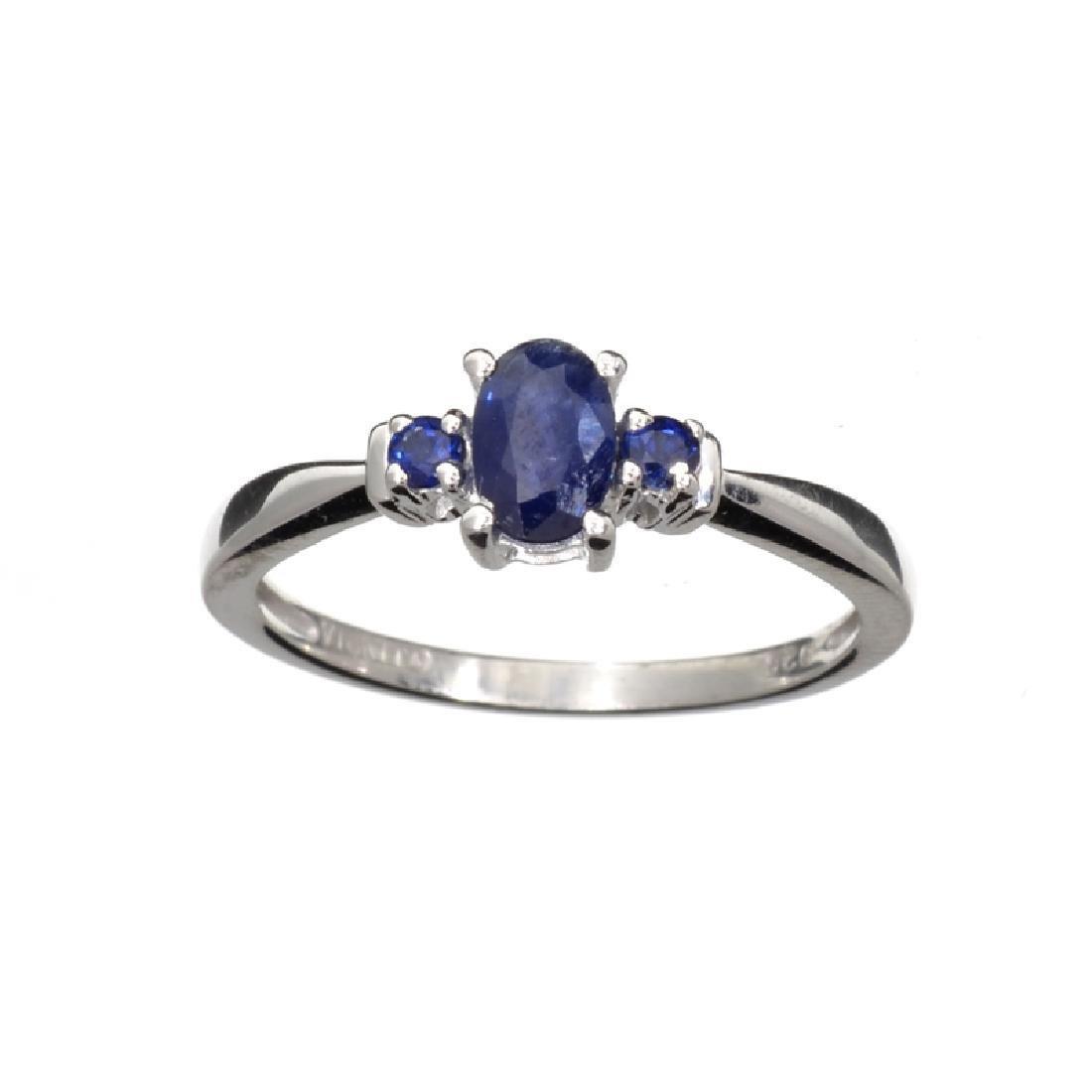 APP: 0.5k Fine Jewelry 0.75CT Oval Cut Blue Sapphire
