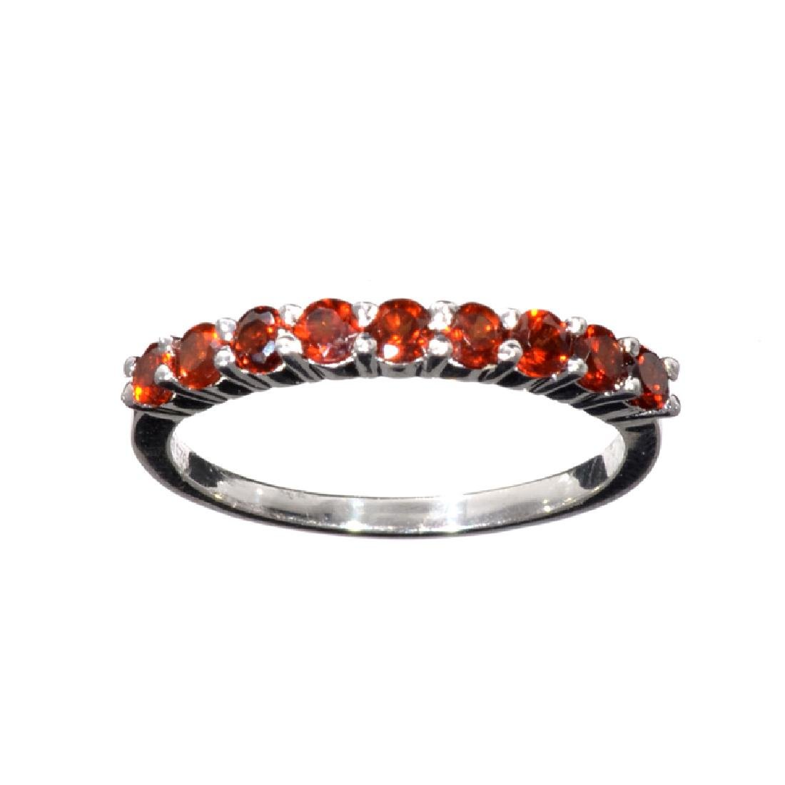 APP: 1k Fine Jewelry 1.00CT Round Cut Almandite Garnet