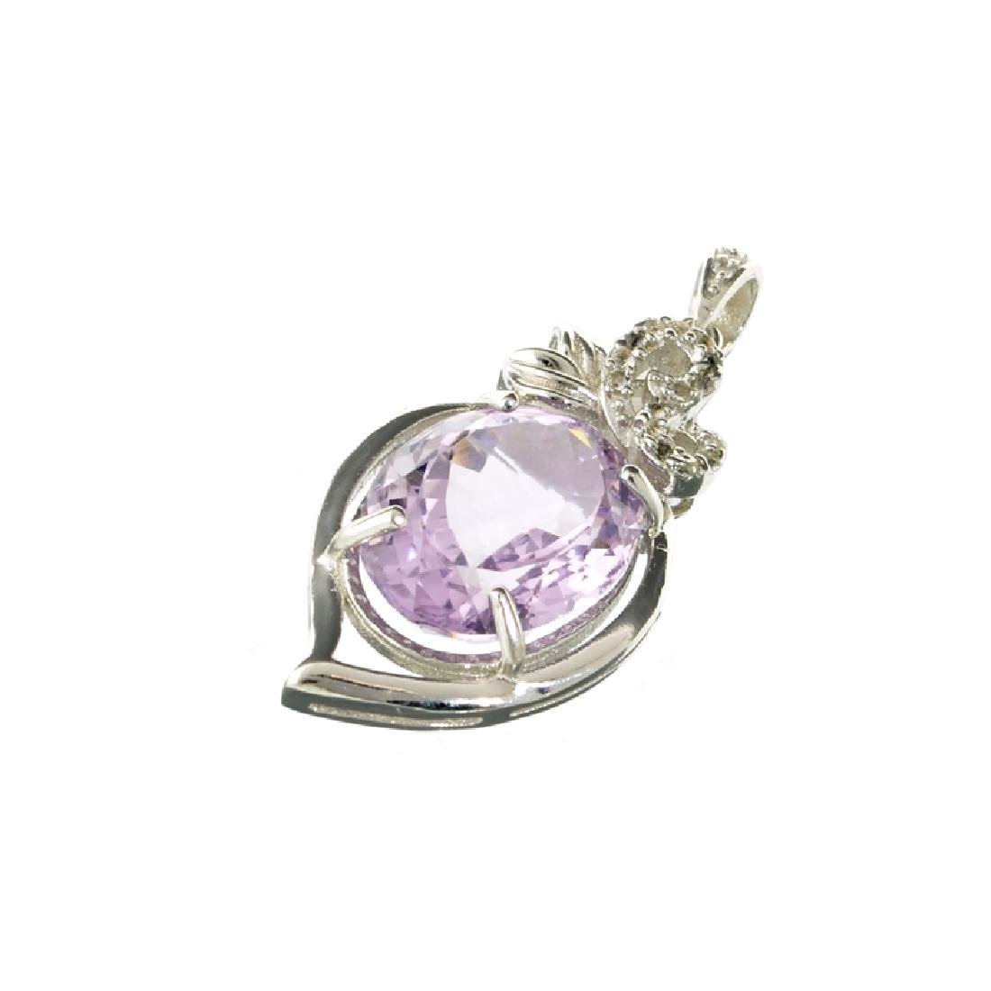 APP: 0.9k Fine Jewerly 9.20CT Oval Cut Amethyst And