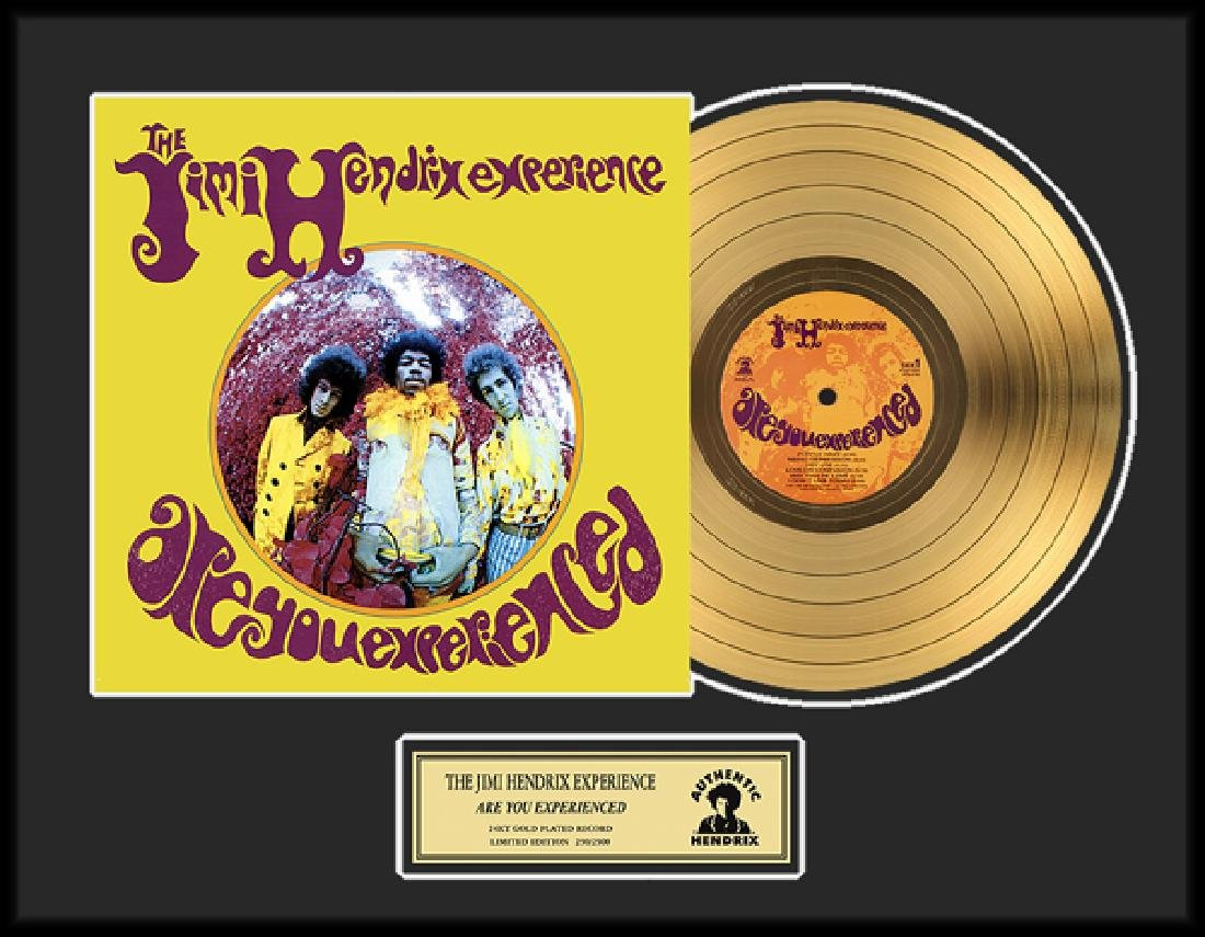''Are You Experienced'' Gold LP