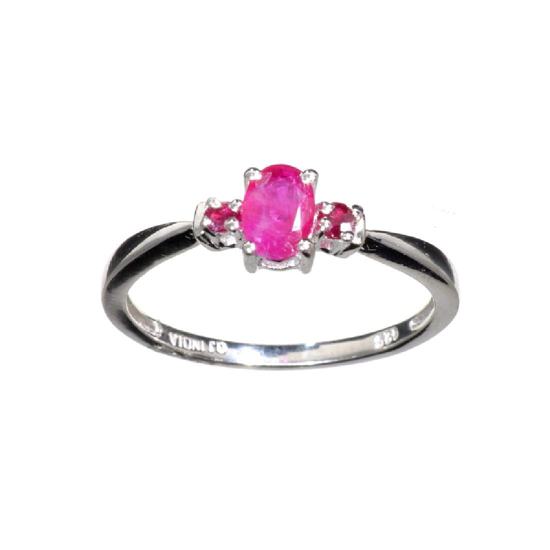 APP: 0.8k Fine Jewelry 1.00CT Mixed Cut Red Spinel And