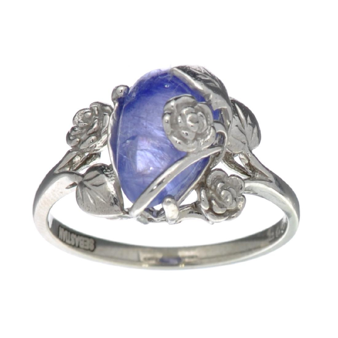 Fine Jewelry Designer Sebastian 2.71CT Pear Cut