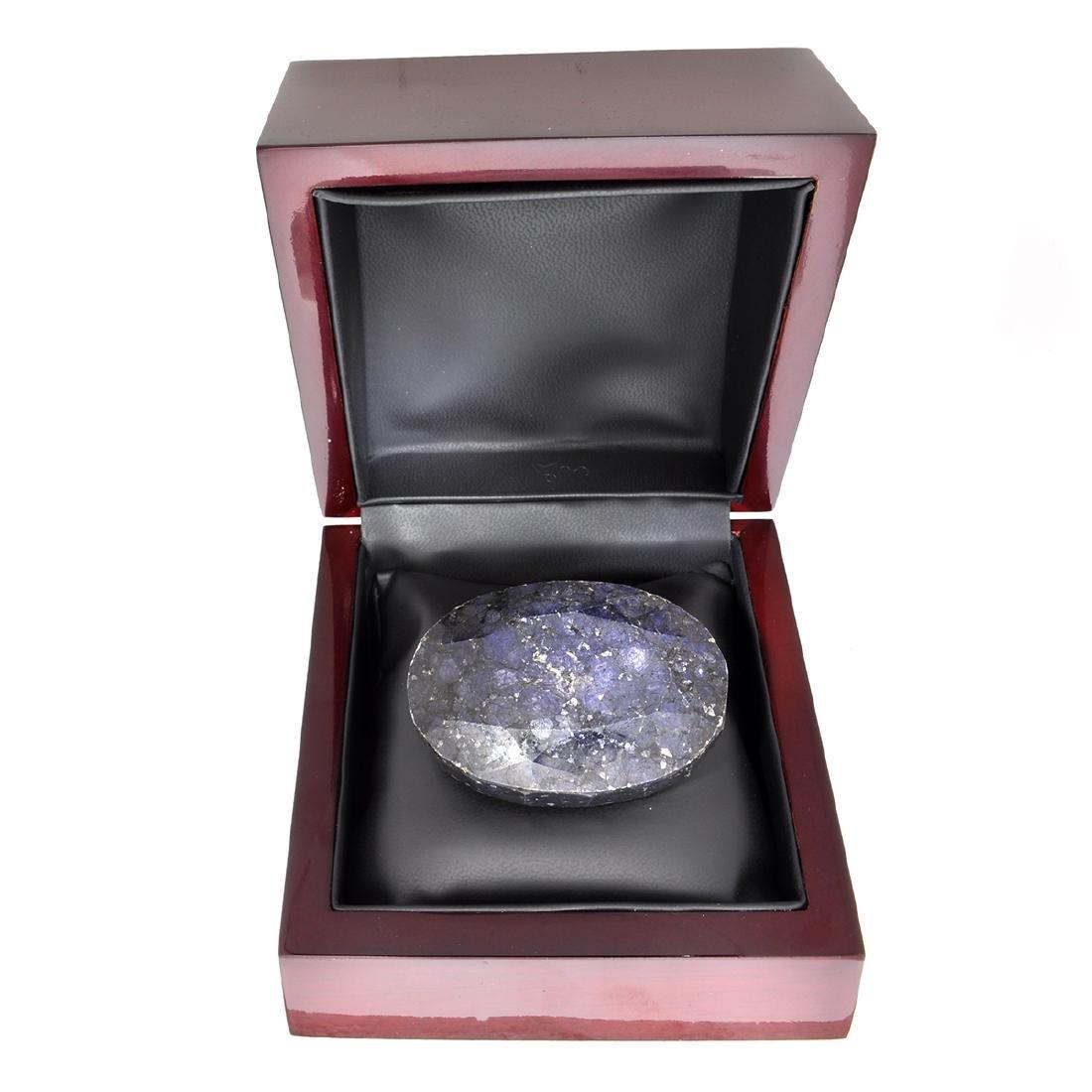 APP: 2.1k 844.70CT Oval Cut Blue Sapphire Gemstone