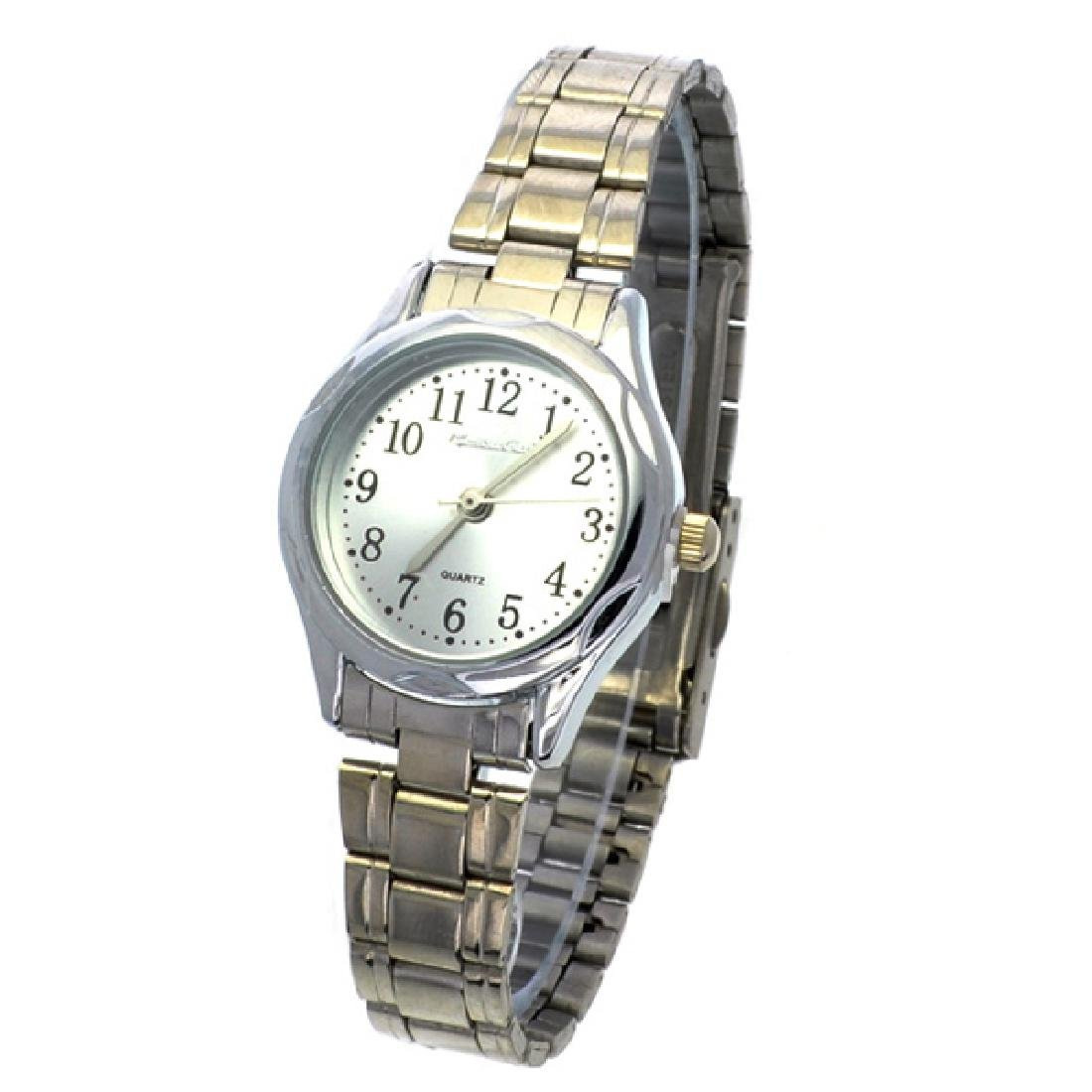 Montres Carlo Quartz Women's Stainless Steel Silver and