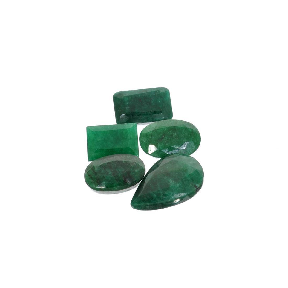 APP: 3.9k 52.51CT Green Emerald Parcel