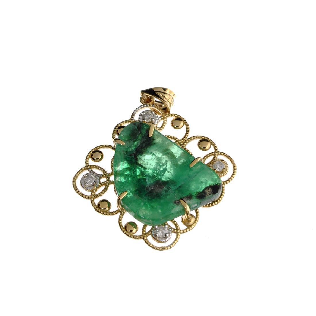 APP: 2.9k Fine Jewelry 14 KT Gold, 10.91CT Free Form