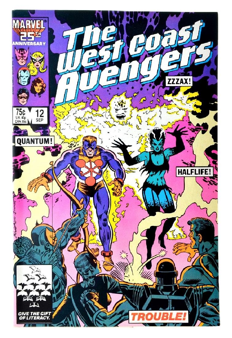 Avengers West Coast (1985) Issue 12