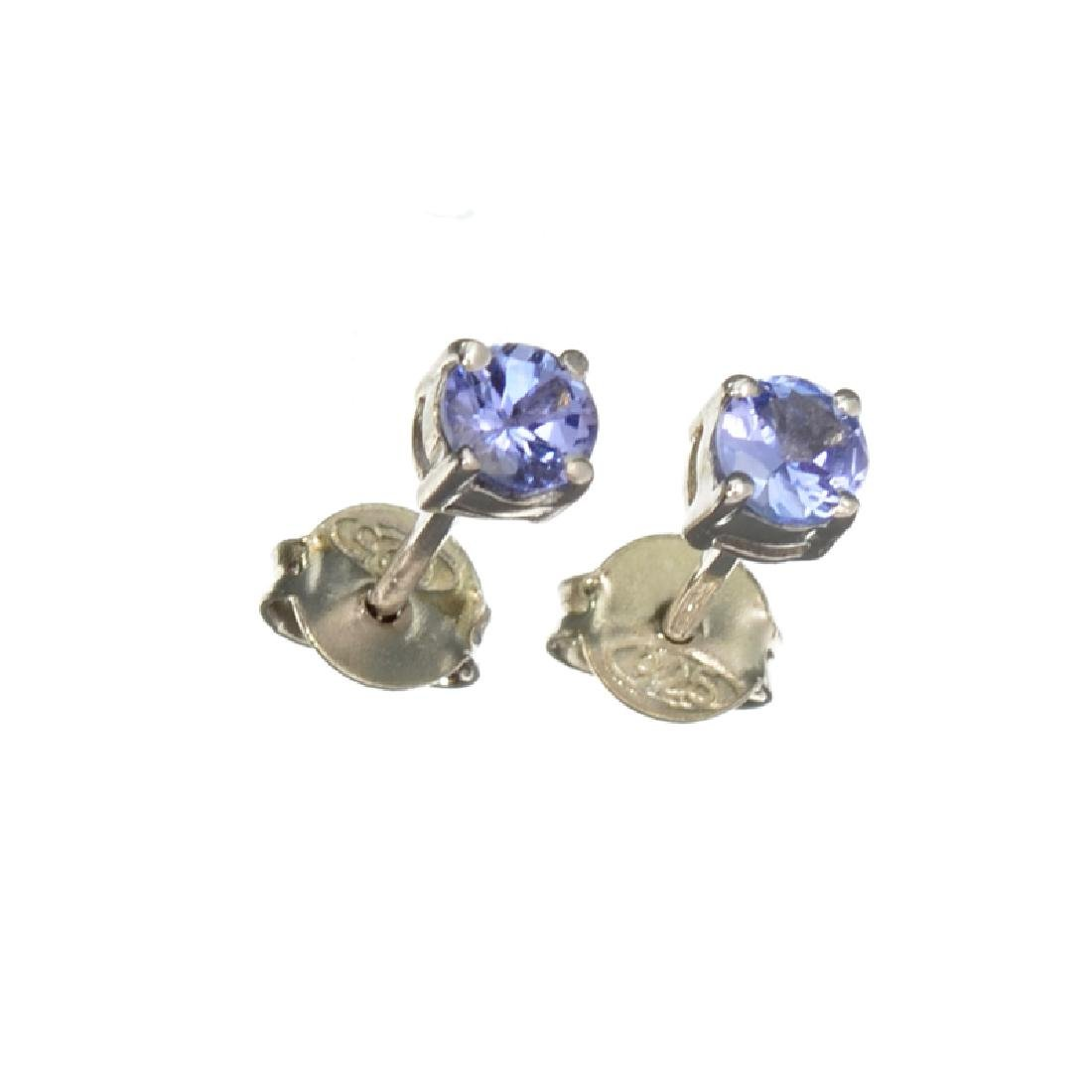 APP: 0.8k Fine Jewelry 0.51CT Round Cut Tanzanite And