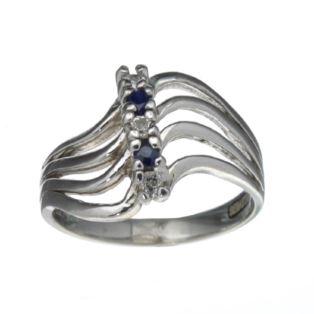 Fine Jewelry Designer Sebastian 0.27CT Round Cut