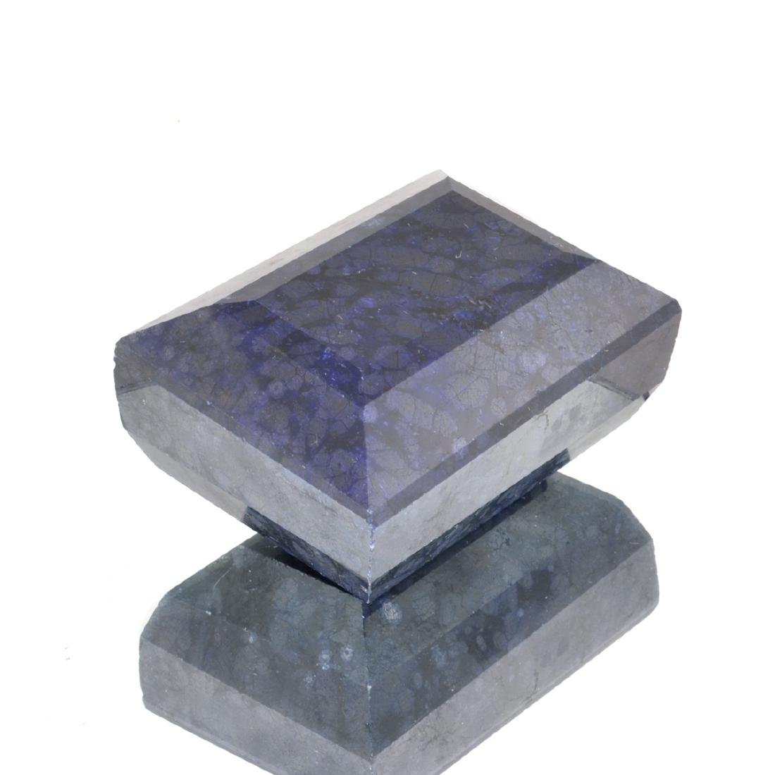 APP: 9.2k 2,634.00CT Rectangle Cut Blue Sapphire