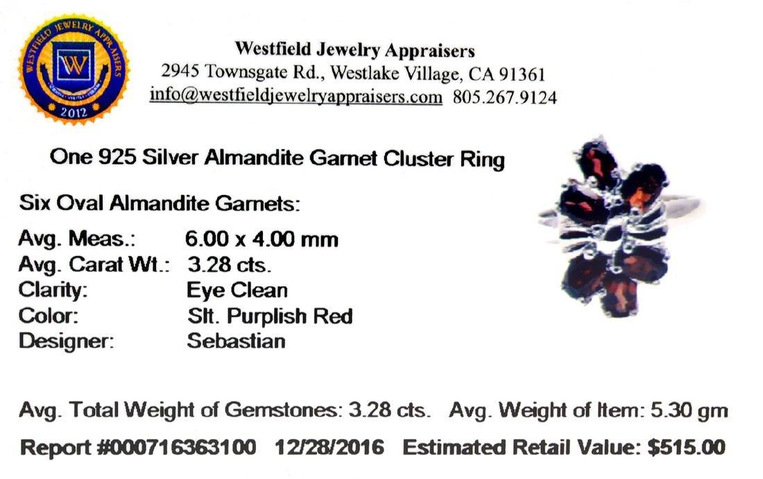 Fine Jewelry Designer Sebastian 3.28CT Oval Cut - 2