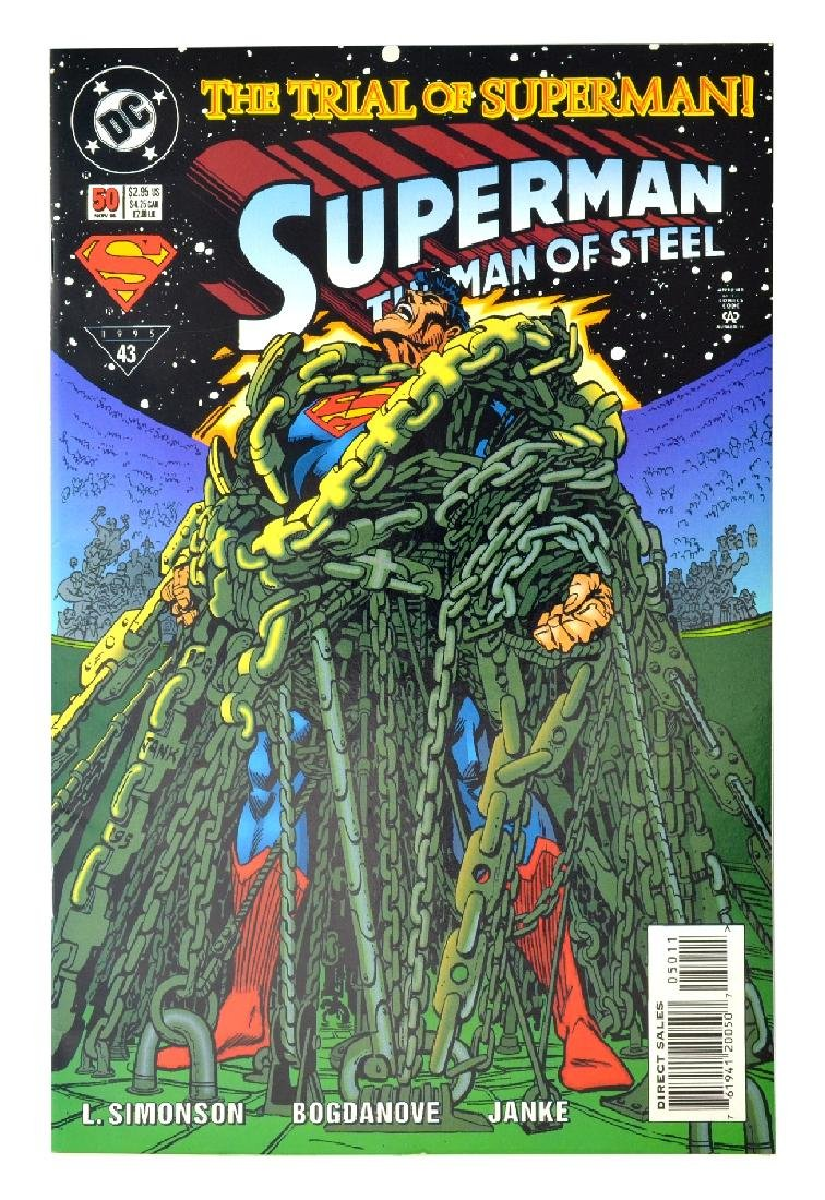 Superman The Man of Steel (1991) Issue #50