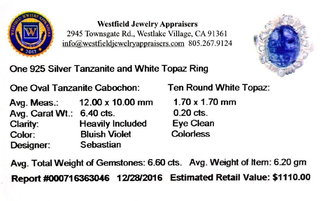 Fine Jewelry Designer Sebastian 6.60CT Cabochon - 2