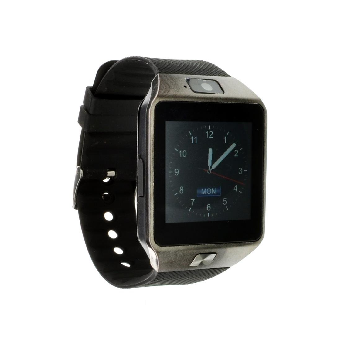 New Black Smart Watch With Charger