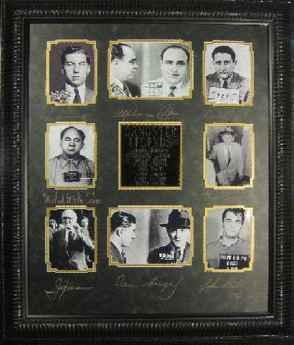 Gangster Legends - Plate Signatures
