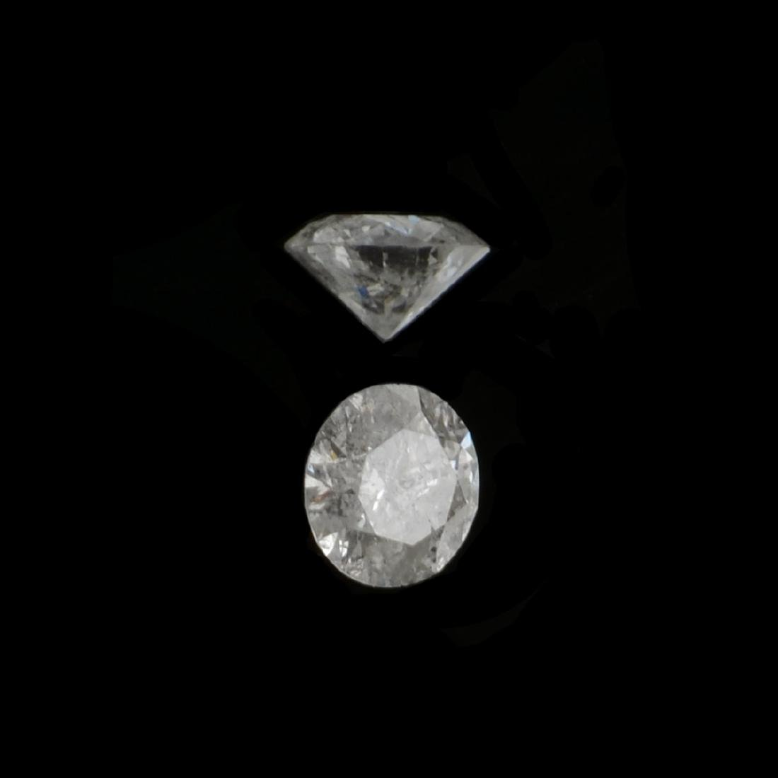 APP: 0.2k 0.09CT Round Brilliant Cut Diamond Gemstone