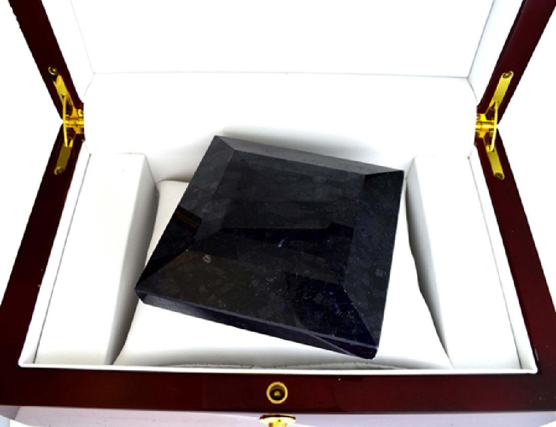 APP: 15k 2509.85CT Square Cut Blue Sapphire Gemstone
