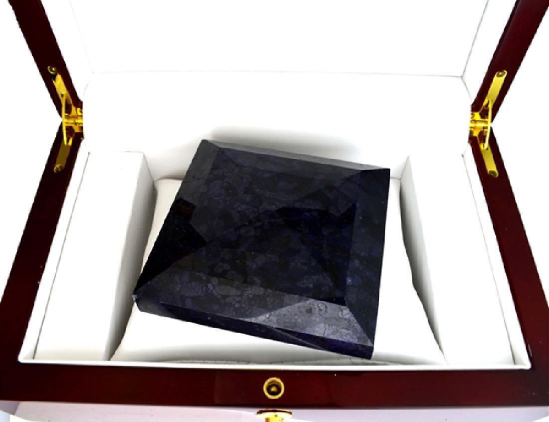 APP: 15k 2509.85CT Square Cut Blue Sapphire Gemstone - 2