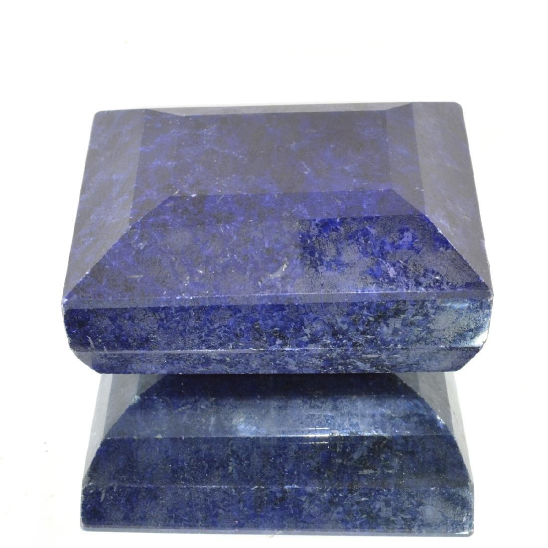 APP: 11.9k 3,969.50CT Rectangle Cut Blue Sapphire
